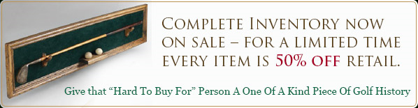 Complete Inventory now on sale � for a limited time every item is 50% off retail.